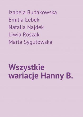 Wszystkie wariacje HannyB.