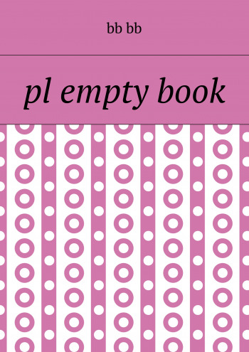 pl empty book