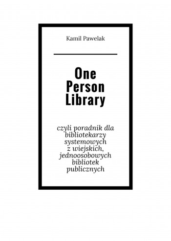 One Person Library