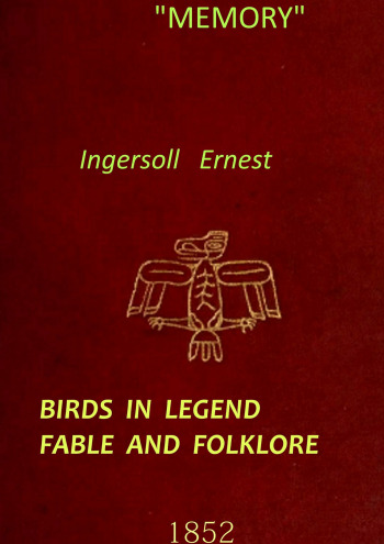Birds in legend fable and folklore